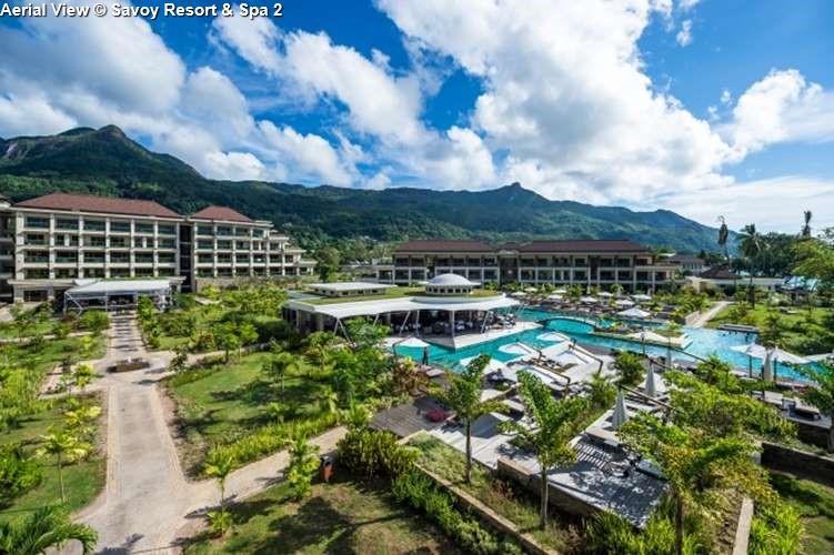 Aerial view Savoy Resort & Spa