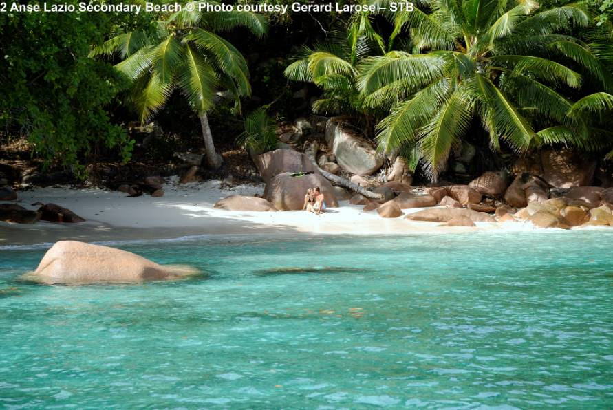 Anse Lazio Secondary Beach