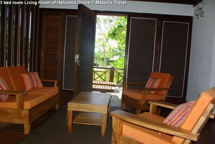 1 bed room Living Room of Heliconia Grove (Praslin)