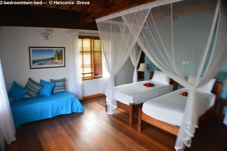 2-bedroomtwin-bed-- Heliconia Grove (Praslin)