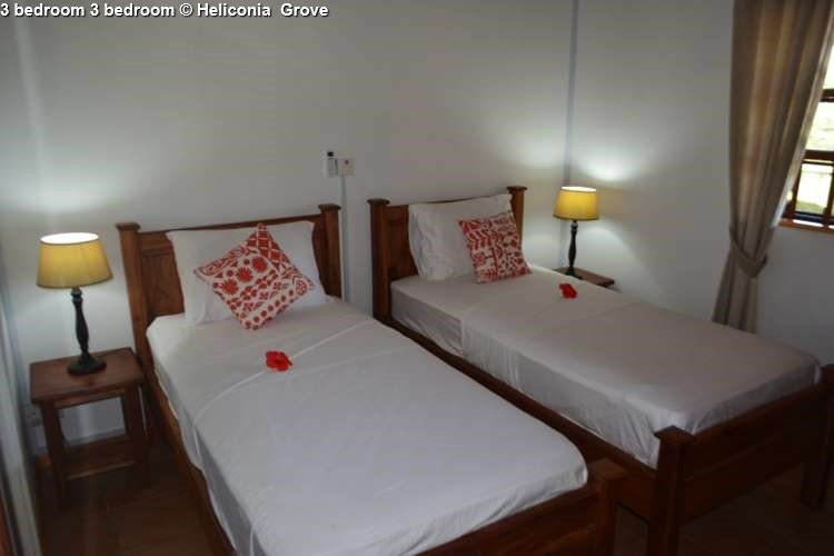 3-bedroom of Heliconia Grove (Praslin)