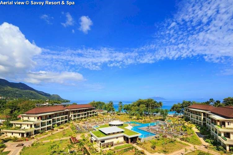 Aerial view Savoy Resort & Spa