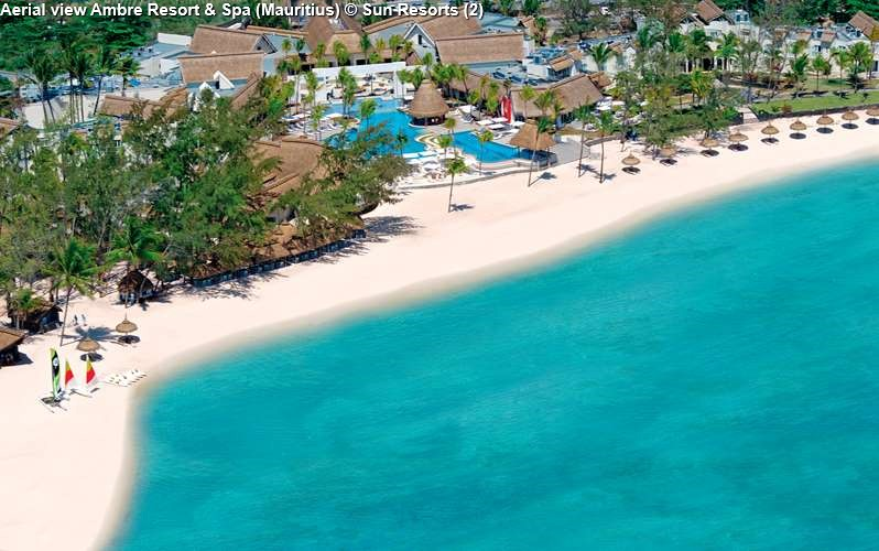 Aerial view Ambre Resort & Spa (Mauritius)