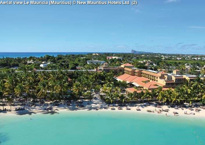 Aerial view Le Mauricia (Mauritius)