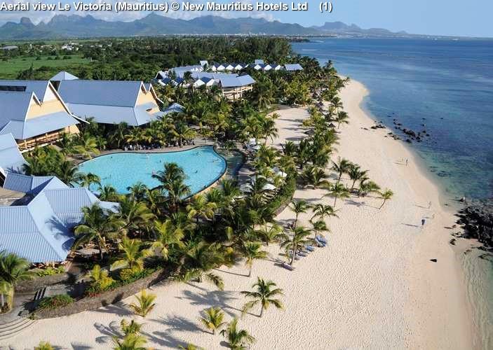 Aerial view Le Victoria (Mauritius)