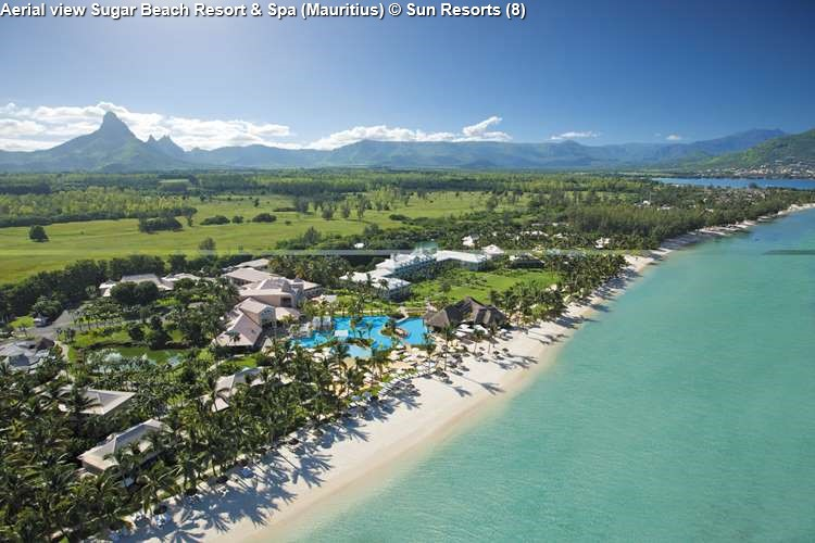 Aerial view Sugar Beach Resort & Spa (Mauritius)