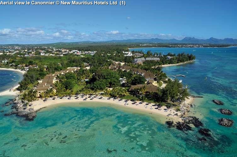 Aerial view le Canonnier (Mauritius)