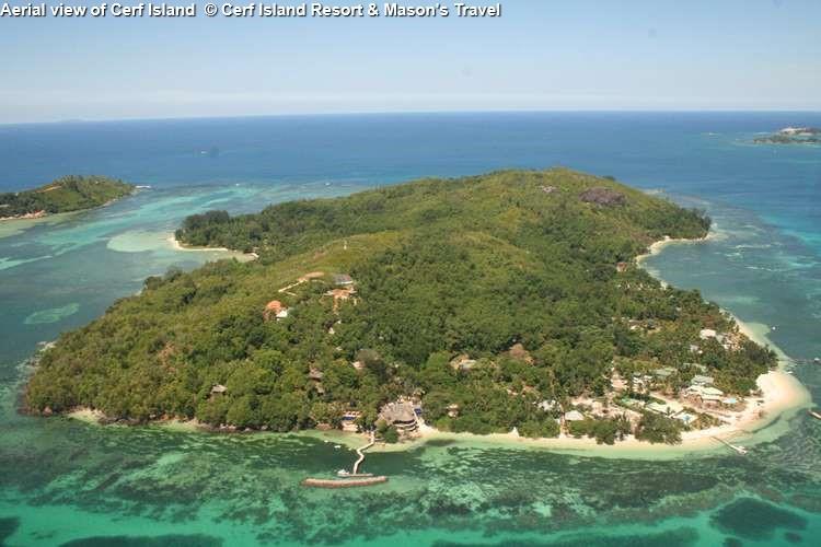 View on Cerf Island Resort