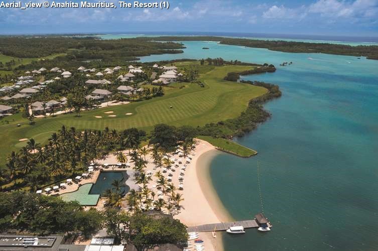 Aerial_view Anahita Mauritius, The Resort