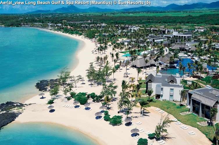 Aerial_view Long Beach Golf & Spa Resort (Mauritius)