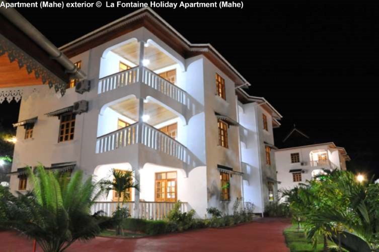 exterior view La Fontaine Holiday Apartment (Mahe)
