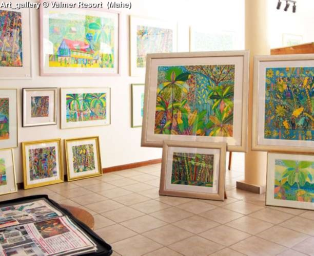 Art_gallery © Valmer Resort (Mahe)