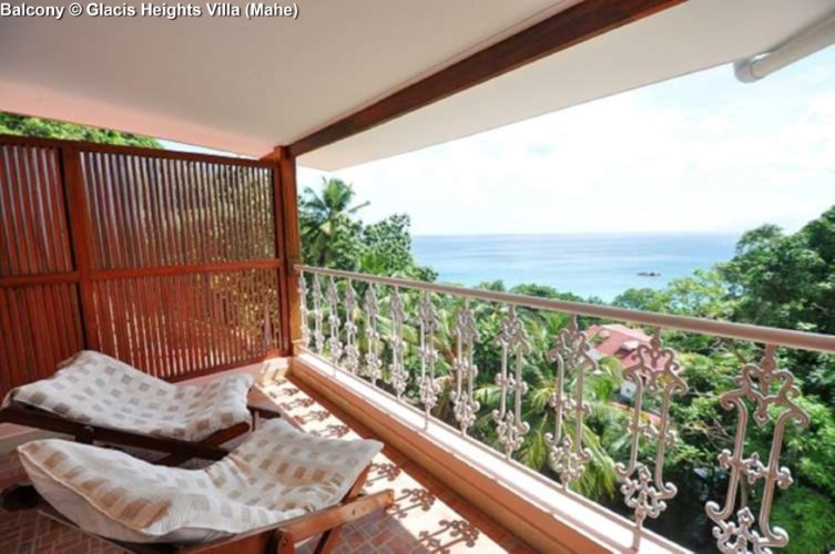 Balcony © Glacis Heights Villa (Mahe)