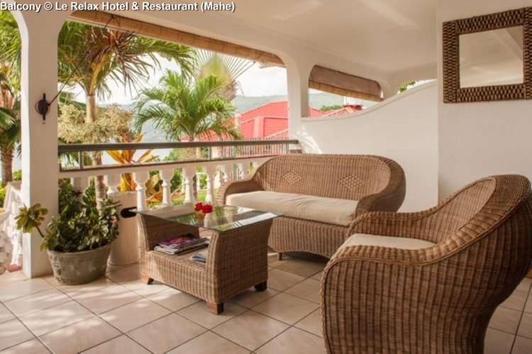 Balcony © Le Relax Hotel & Restaurant (Mahe)