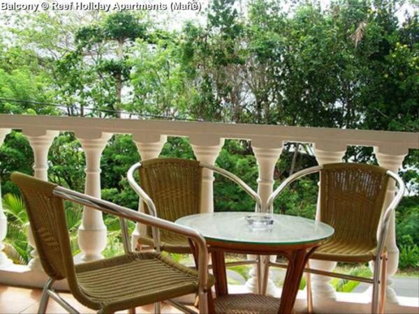 Balcony © Reef Holiday Apartments (Mahe)