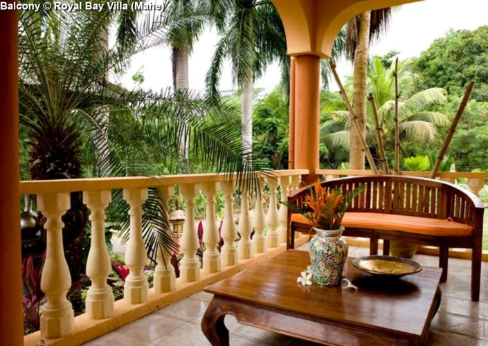 Balcony Royal Bay Villa (Mahe)