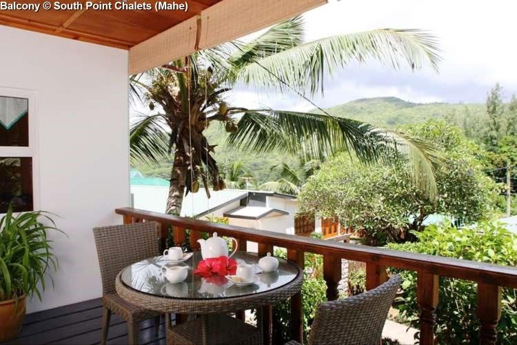 Balcony © South Point Chalets (Mahe)