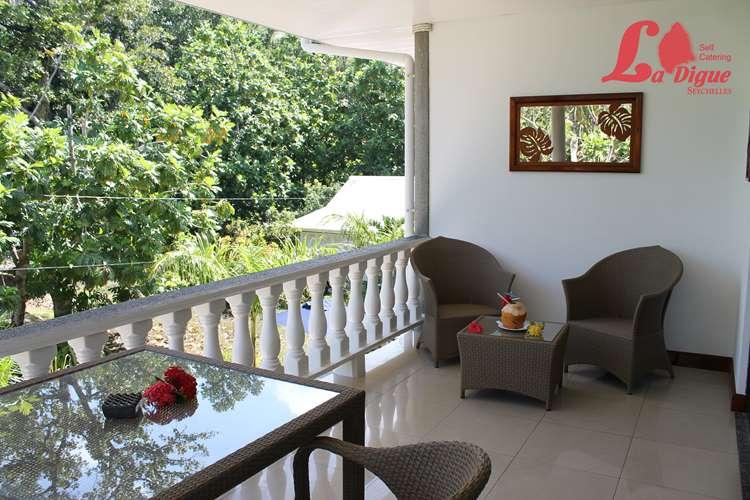 Balcony La Digue Self Catering