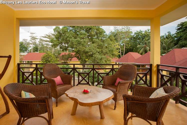 Balcony Les Lauriers Eco Hotel (Praslin)