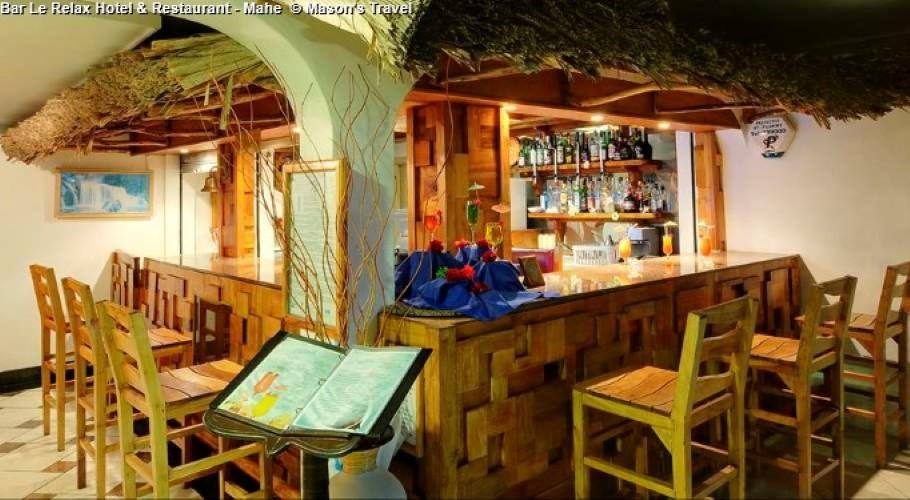 Bar Le Relax Hotel & Restaurant - Mahe © Mason's Travel