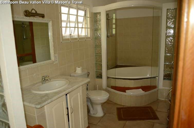 Bathroom Beau Vallon Villa