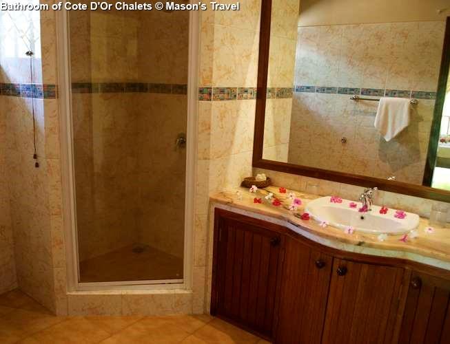 Bathroom of Cote D'Or Chalets (Praslin)