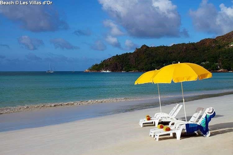 Beach Les Villa d'Or (Praslin)