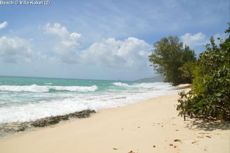 Beach close to Villa Koket (Mahe)