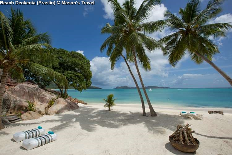 Beach of Deckenia (Praslin)
