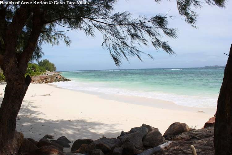 Beach of Anse Kerlan close to Casa Tara Villas