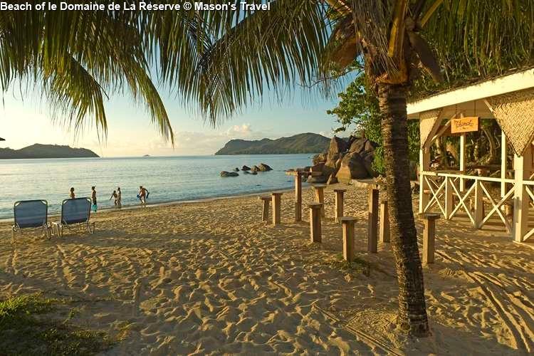Beach of le Domaine de La Reserve (Praslin)