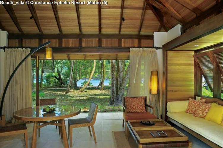 Beach_villa © Constance Ephelia Resort (Mahe)