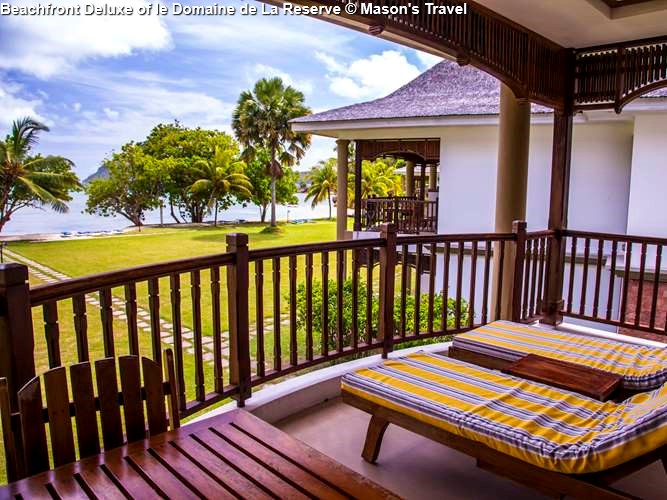Beachfront Deluxe Villa of le Domaine de La Reserve (Praslin)