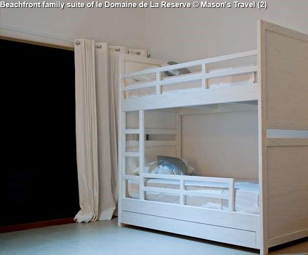 Beachfront family suite of le Domaine de La Reserve (Praslin)