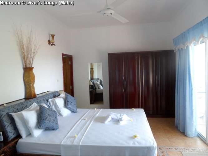 Bedroom © Diver's Lodge (Mahe)