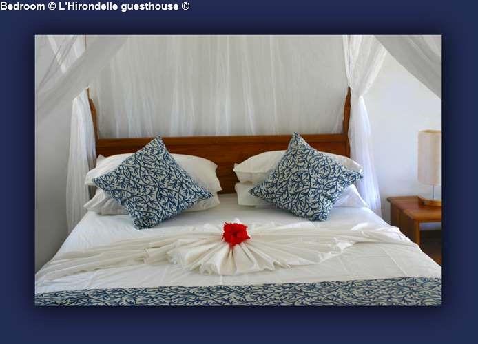 Bedroom L'Hirondelle guesthouse (Praslin)