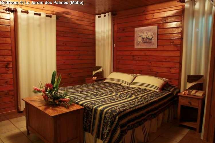 Bedroom © Le Jardin des Palmes (Mahe)