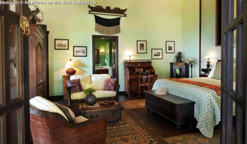 Bedroom © Residence on the Rocks (Mahe)