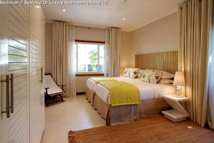 Bedroom © Sables d'Or Luxury Apartment (Mahe)
