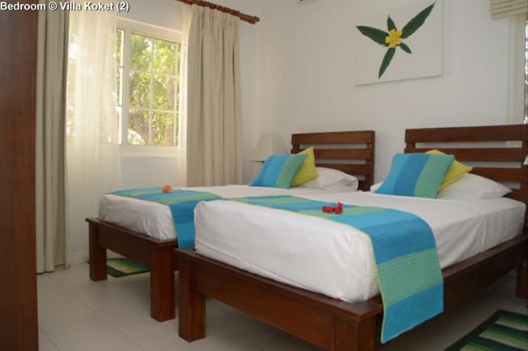 Bedroom Villa Koket (Mahe)