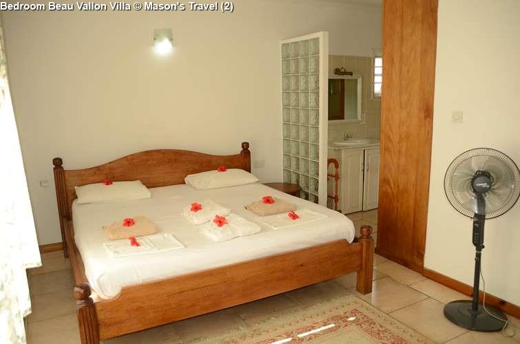 Bedroom Beau Vallon Villa
