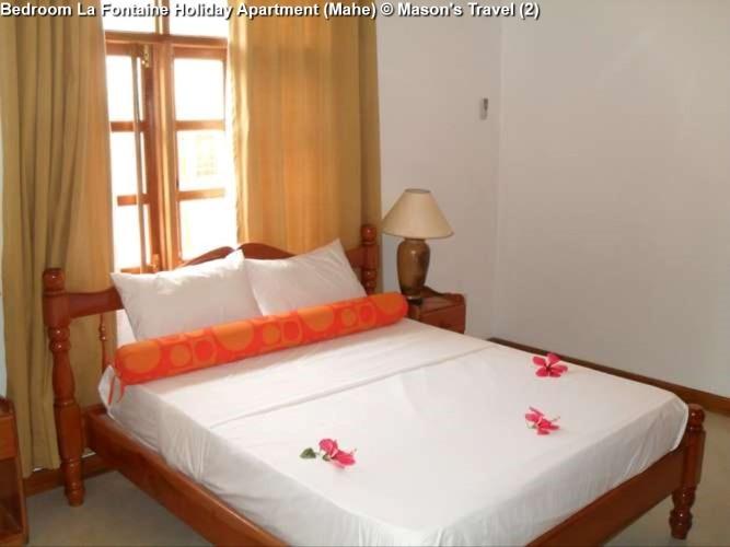 Bedroom La Fontaine Holiday Apartment (Mahe)