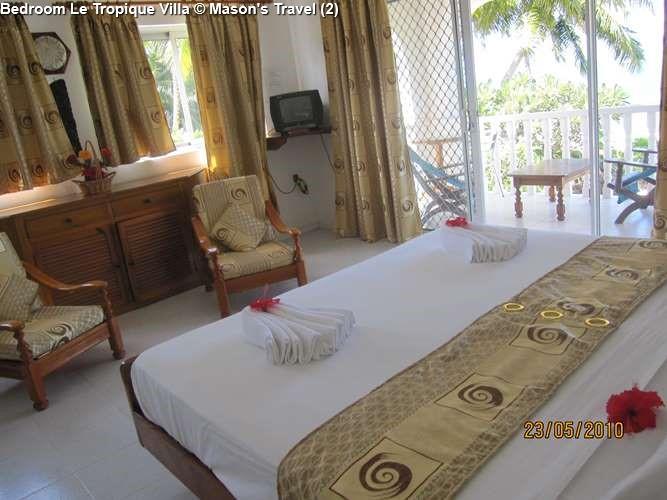 Bedroom Le Tropique Villa (Praslin)