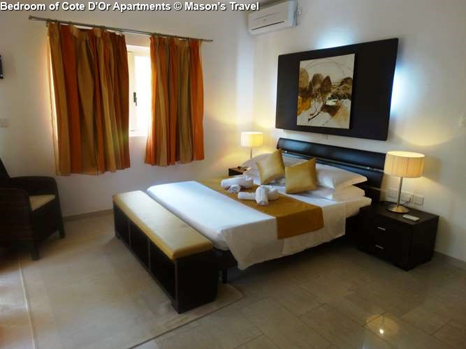 Bedroom of Cote D'Or Apartments (Praslin)