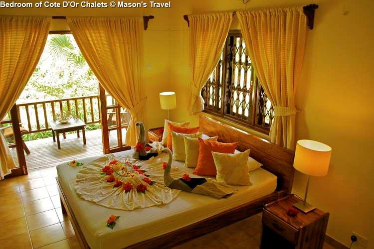 Bedroom of Cote D'Or Chalets (Praslin)