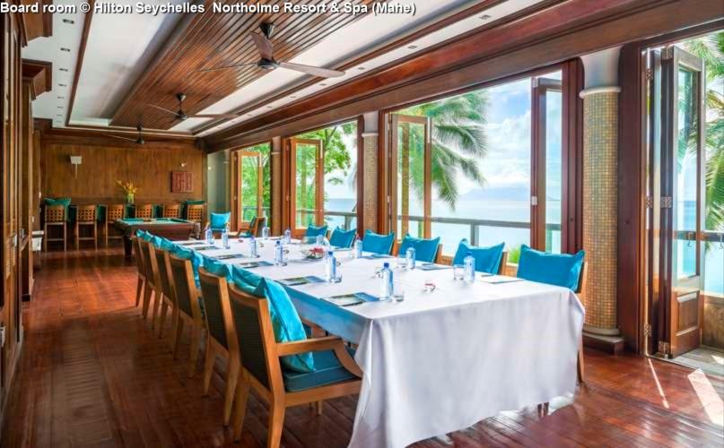 Board room © Hilton Seychelles Northolme Resort & Spa (Mahe)