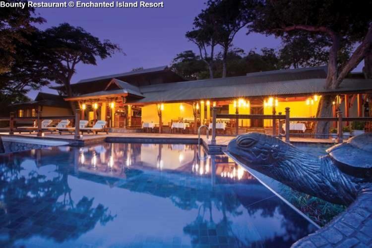 Bounty Restaurant Enchanted Island Resort