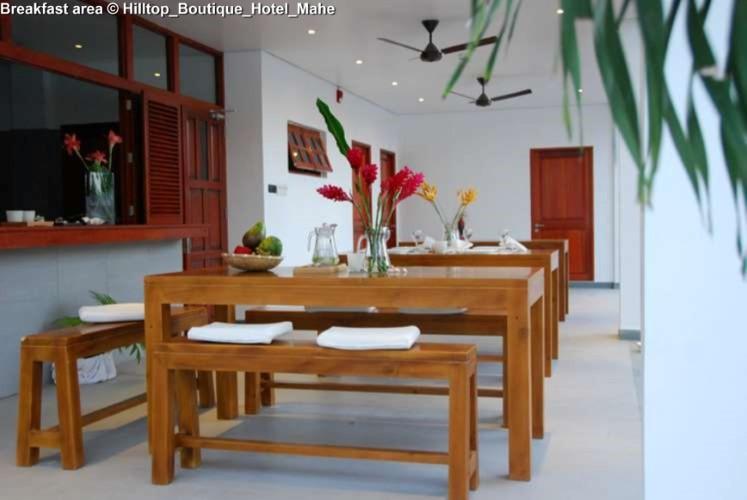 Breakfast area © Hilltop_Boutique_Hotel_Mahe