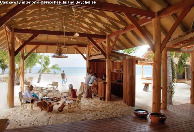 nterior Cast-a-way interior of Desroches_Island Seychelles