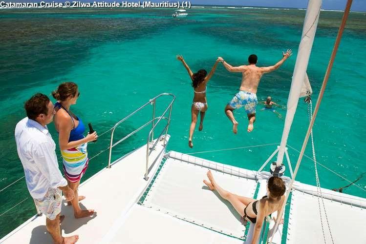 Catamaran Cruise Zilwa Attitude Hotel (Mauritius)